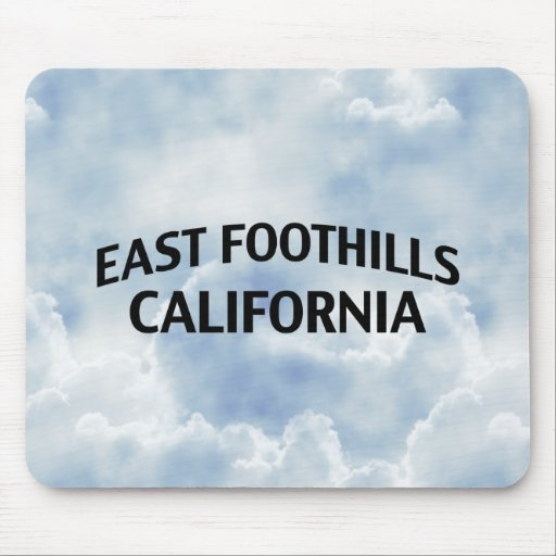 East Foothills California Mousepads
