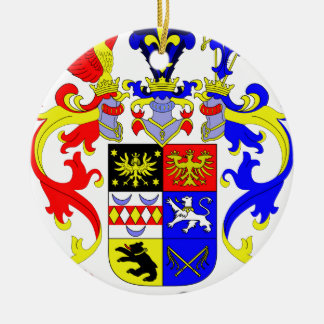 East Frisia (Germany) Coat of Arms Christmas Ornament