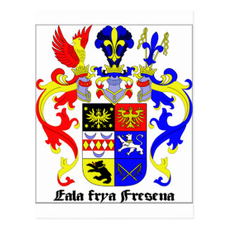 East Frisia (Germany) Coat of Arms Post Card