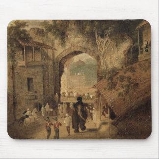 East Gateway, Patna, 1825 (oil on canvas) Mouse Mat