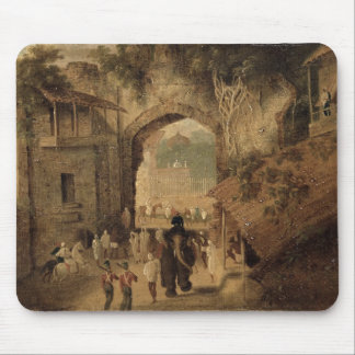 East Gateway, Patna, 1825 (oil on canvas) Mouse Pad