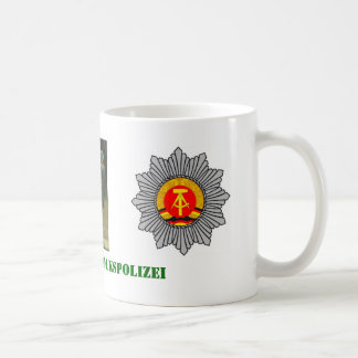 East German Barrack Police Coffee Mug