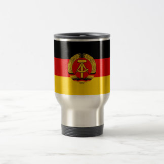 East German Flag Travel Mug