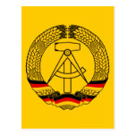 East Germany Coat of Arms / Deutschland State Seal Postcards