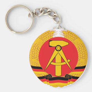 East Germany Coat Of Arms Key Ring