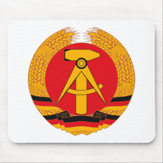 East Germany Coat of Arms Mousepad
