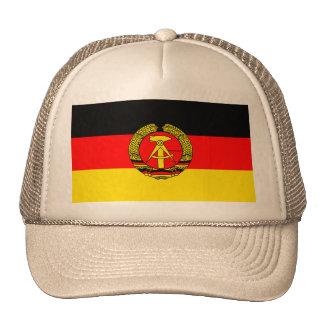 East Germany, Flag Cap