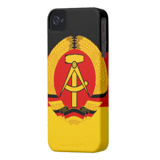 East Germany Flag iPhone 4 Case-Mate Case