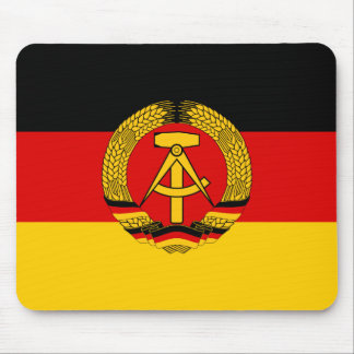 East Germany Flag Mouse Mat