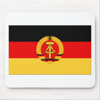 East Germany Flag Mouse Pads
