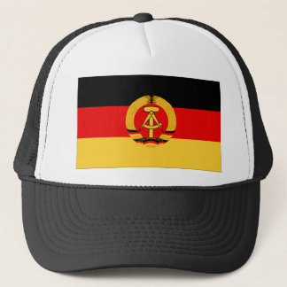East Germany Flag Trucker Hat