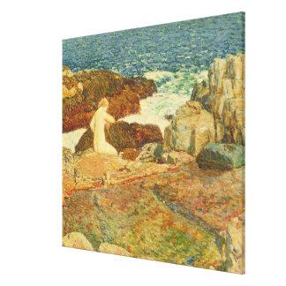 East Headland Pool Canvas Print