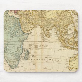 East Hemisphere  map Mouse Pad