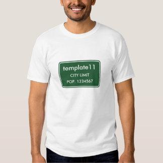East Hodge Louisiana City Limit Sign Tee Shirts