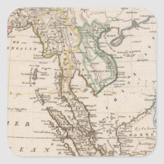 East India 2 Square Sticker