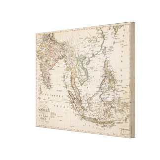 East India Canvas Print