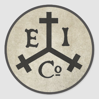 East India Company Classic Round Sticker