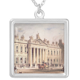 East India House, Leadenhall Street Silver Plated Necklace
