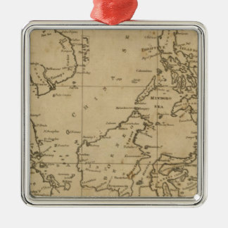 East India Islands 2 Christmas Ornament
