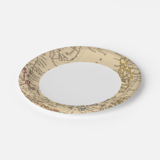 East India Islands Paper Plate