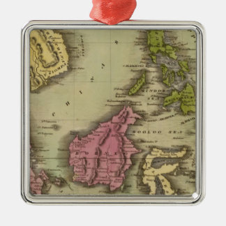 East India Isles 2 Christmas Ornament