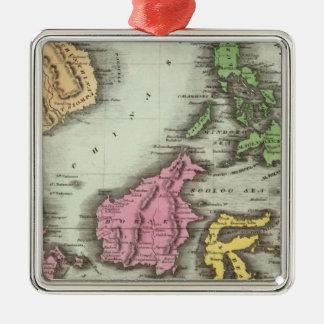 East India Isles 2 Christmas Ornament