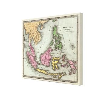 East India Isles 3 Canvas Print
