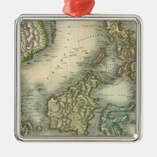 East India Isles 3 Christmas Ornament