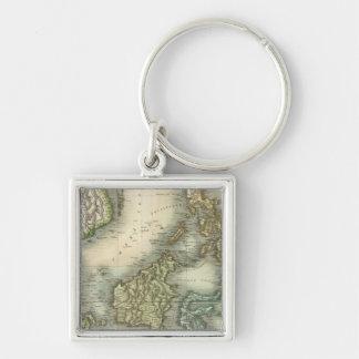 East India Isles 3 Key Ring