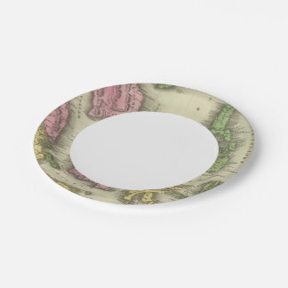 East Indian Isles Paper Plate