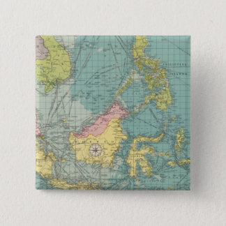 East Indian ports 15 Cm Square Badge