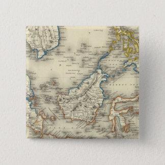 East Indies 2 15 Cm Square Badge