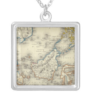 East Indies 2 Silver Plated Necklace
