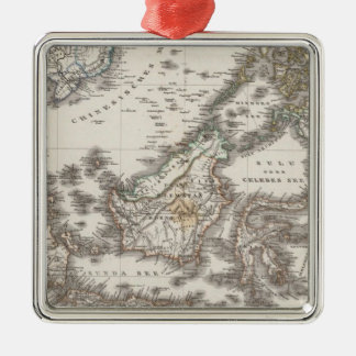 East Indies 3 Christmas Ornament