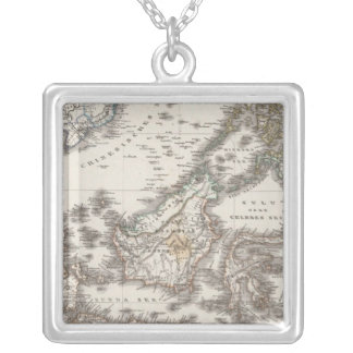 East Indies 3 Silver Plated Necklace