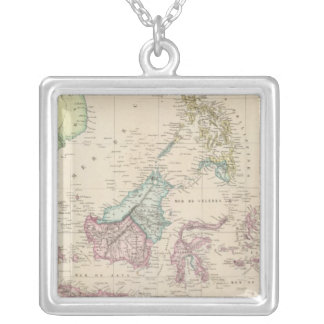 East Indies Silver Plated Necklace