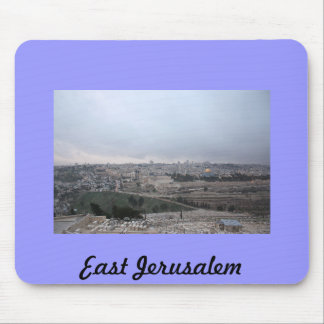 East Jerusalem from the Mount of Olives Mouse Pad