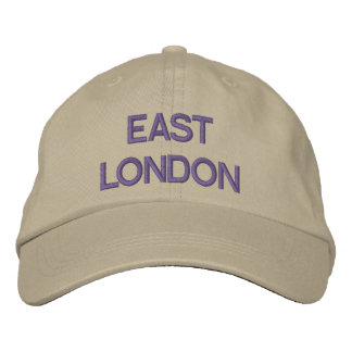 East London Cap Embroidered Hat