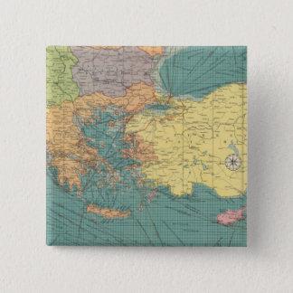 East Mediterranean 15 Cm Square Badge