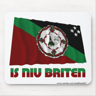 East New Britain Province Waving Flag Mouse Pad