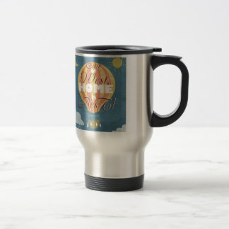 East or West home is best - ballon in the sky Stainless Steel Travel Mug