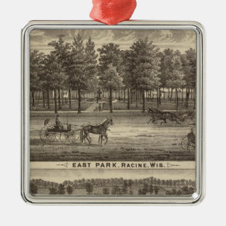 East Park, Racine and Oakland Farm Christmas Ornament