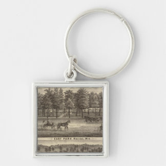 East Park, Racine and Oakland Farm Key Ring