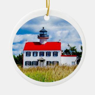 East Point Lighthouse Christmas Ornament