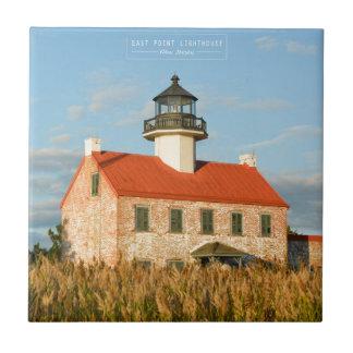 East Point Lighthouse. Tile