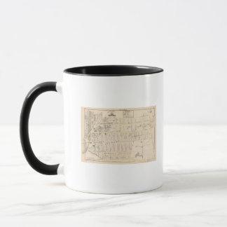 East Providence Rhode Island Map Mug