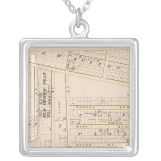 East Providence Rhode Island Silver Plated Necklace