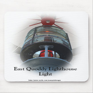East Quoddy Lighthouse Light Mouse Pad