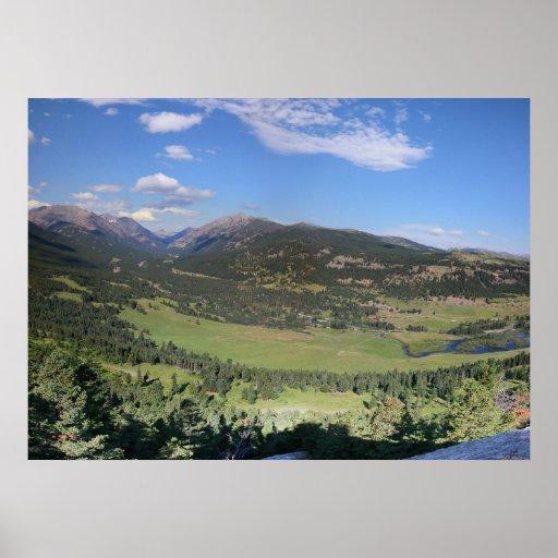 East Ranger Trail Overlook Poster