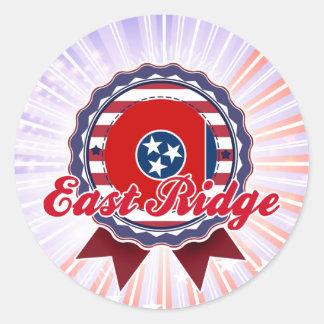 East Ridge, TN Round Stickers